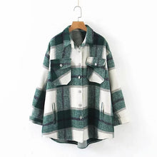 Load image into Gallery viewer, TOPPIES Women Loose Oversize Woolen Coat