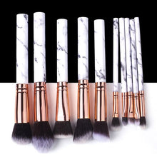 Load image into Gallery viewer, BEAUTIES 5/10/15pcs Marble Makeup Brushes