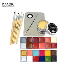 Load image into Gallery viewer, IMAGIC Professional  Makeup  Cosmetics 1 X12 Colors Body Painting+Skin Wax+professional makeup remover Makeup Set Tools
