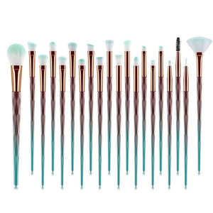 Diamond And Crystal Make Up Brushes