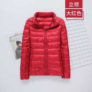 LISM Women Ultralight Hooded Jacket