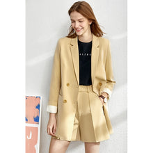Load image into Gallery viewer, AMII Women 4 Piece Set Blazer, Tanks, Pants