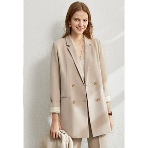 AMII Women 4 Piece Set Blazer, Tanks, Pants