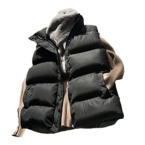 HWLZLTZHT Women Loose Padded Vest