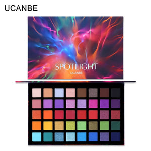 UCANBE Spotlight 40 Color Eye Shadow Palette