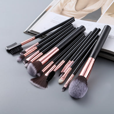 FLD 5/15pcs Kabuki Makeup Brushes