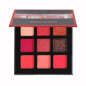 BEAUTY GLAZED 9 Colors Bright Eye Shadow Palette