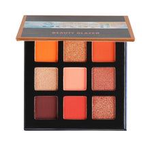 Load image into Gallery viewer, BEAUTY GLAZED 9 Colors Bright Eye Shadow Palette