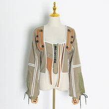 Load image into Gallery viewer, TWOTWINSTYLE Casual Patchwork Irregular Jacket