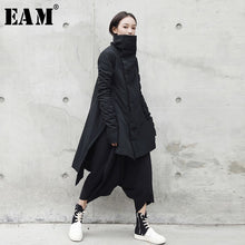 Load image into Gallery viewer, [EAM] Women Irregular Long Cotton Padded Coat