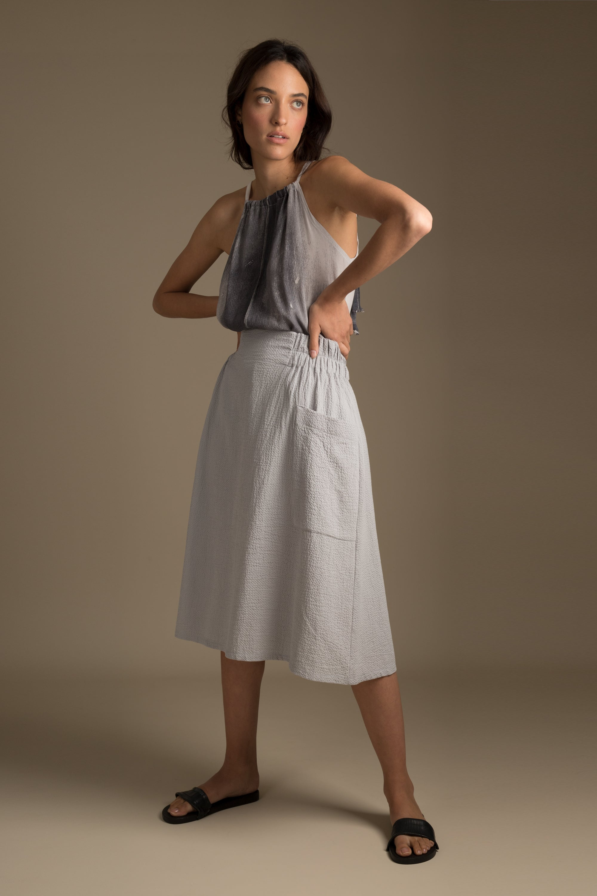 PALE CANVAS Skirt