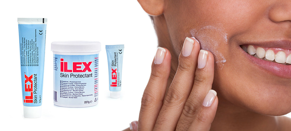 ilex for skincare such as Eczema