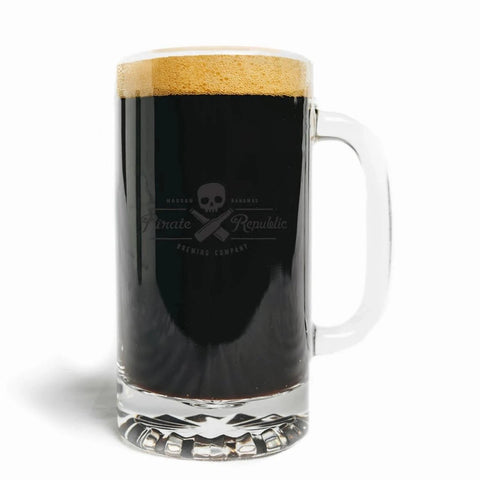 16 oz Brewmaster Glass Tankard