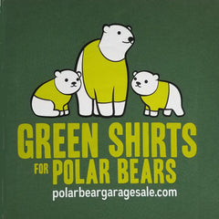 Design Competition Green Shirts for Polar Bears