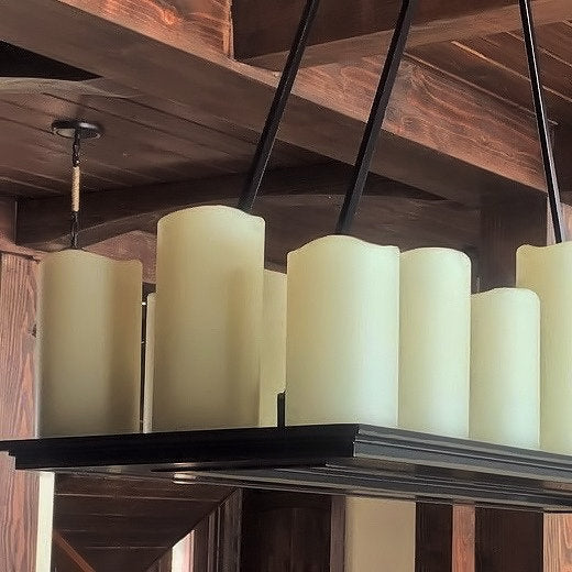 Translucent Beeswax Cylinders