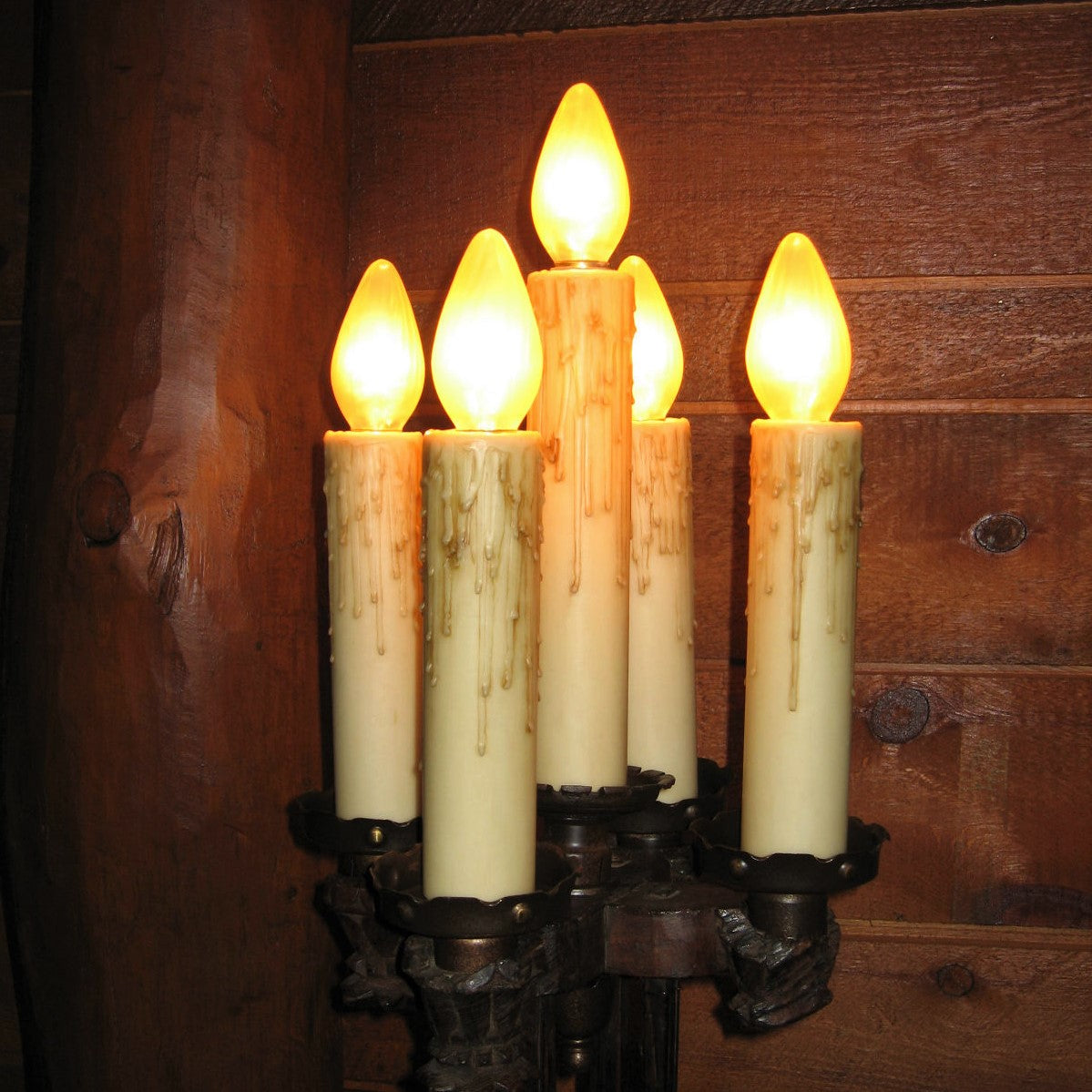 Beeswax Candle Covers - Medium Base