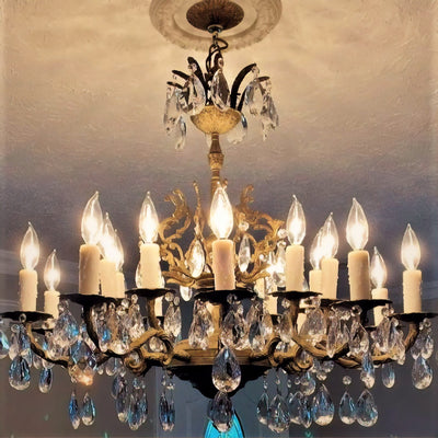 Resin Candelabra with Drips - Custom Heights