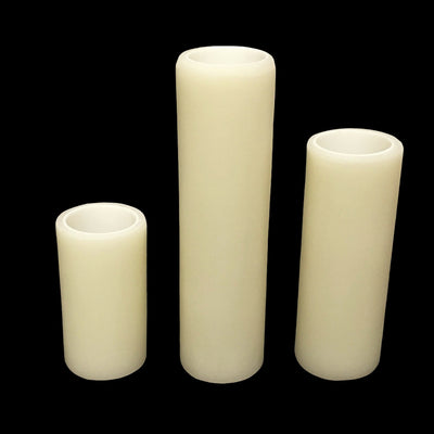 Smooth Resin Candle Cover - Candelabra