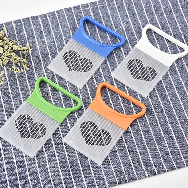 Stainless Steel Plastic Vegetable Slicer - kitchen gadgetsandmore