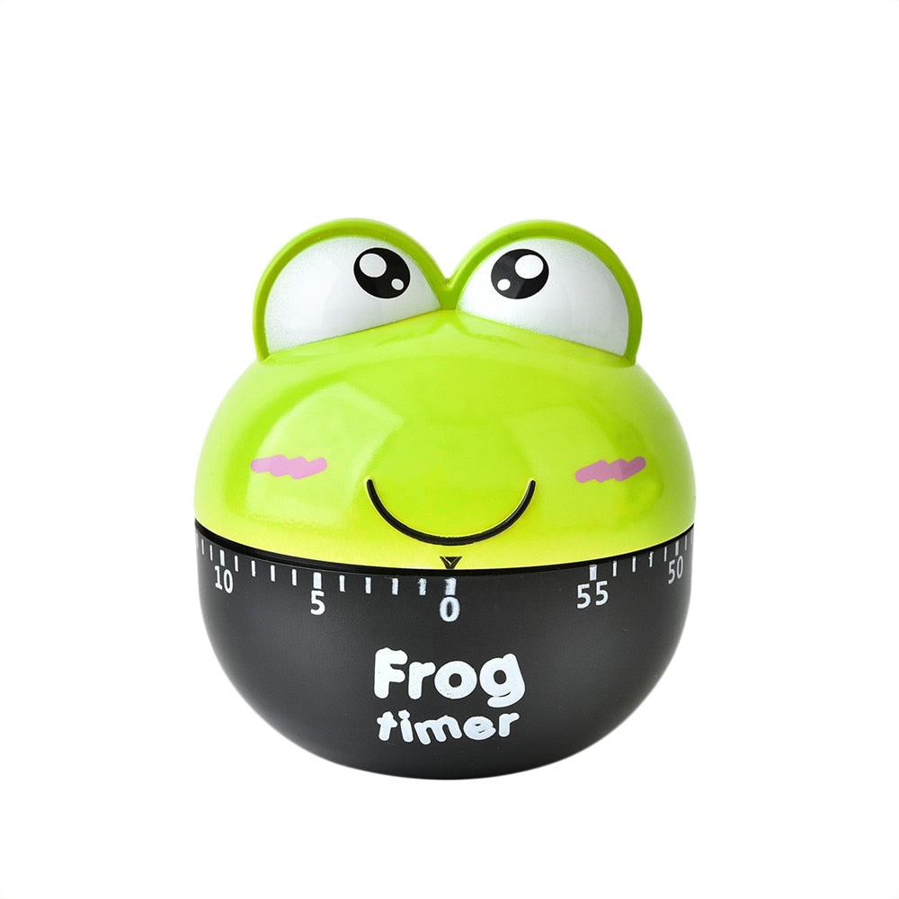 Cartoon Animal 60 Minute Timer Frog Shape - kitchen gadgetsandmore