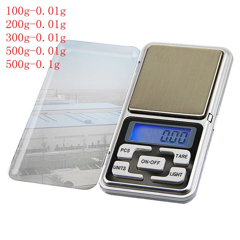 High Accuracy Backlight  Kitchen Mini Digital Scale 100/200/300/500g 0.01/0.1g - kitchen gadgetsandmore