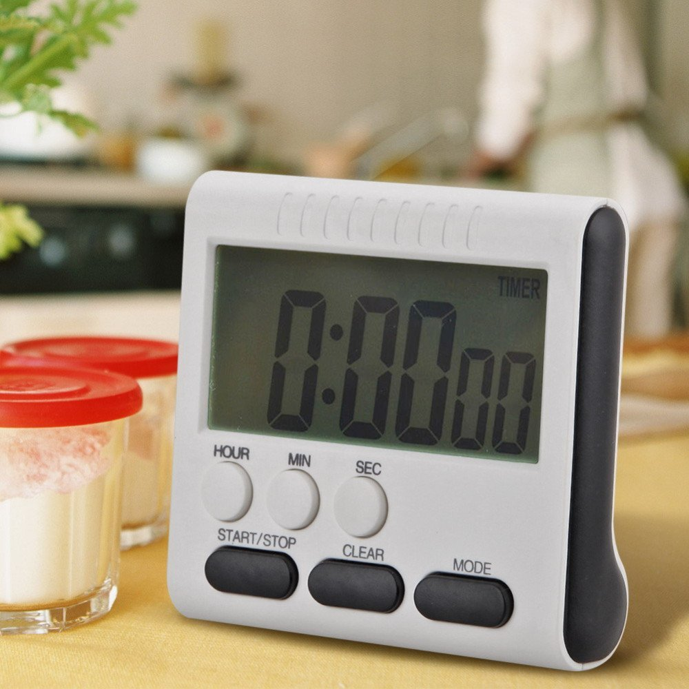 Multifunction LCD Digital Kitchen Cooking Timer - kitchen gadgetsandmore