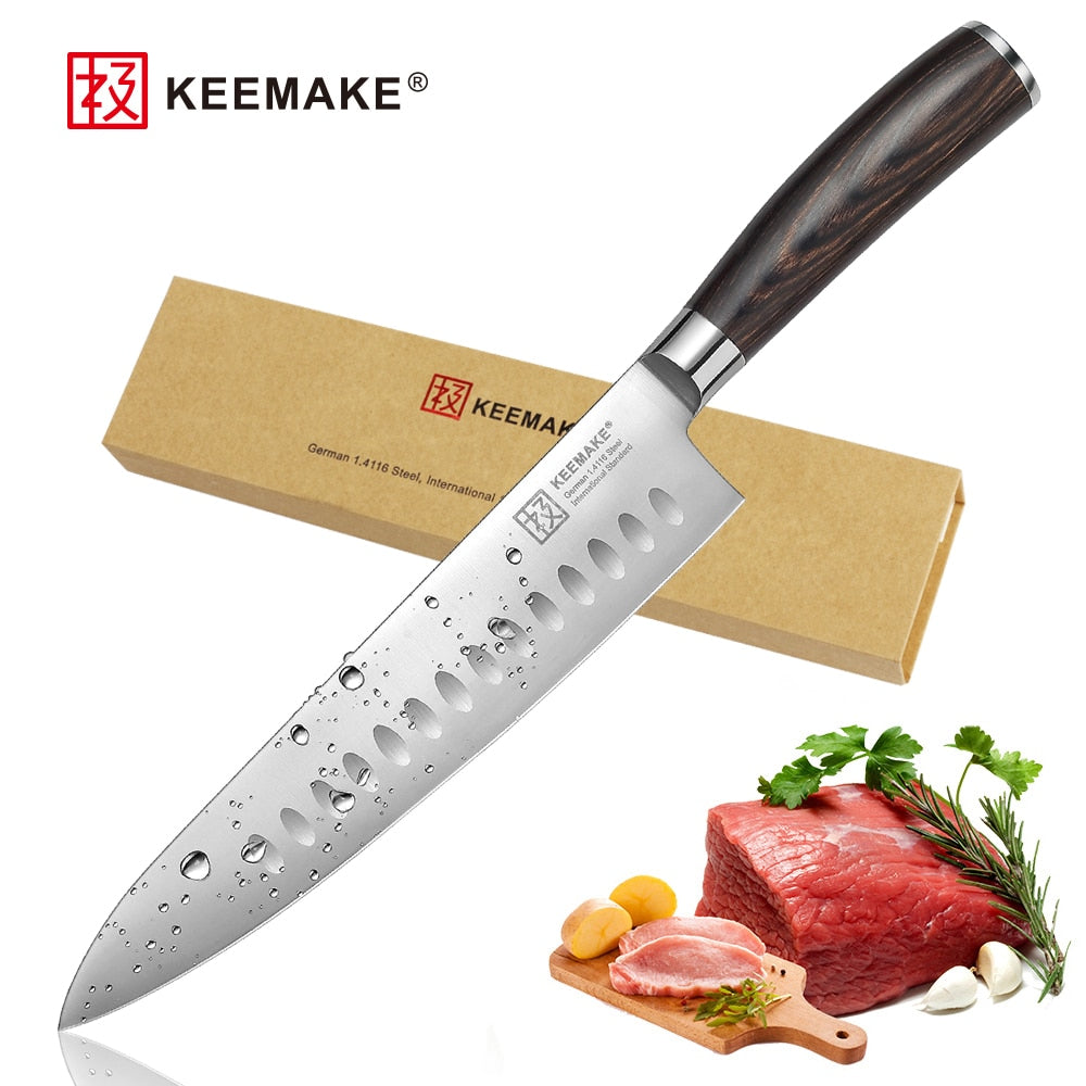 "KEEMAKE Professional 8.5"" Chef knife German - kitchen gadgetsandmore"