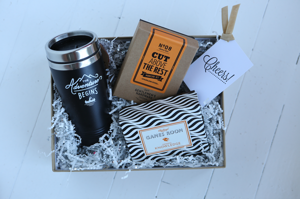 Father's Day Gift Crate | Custom Gift Crates for Dad | Father's Day Gift Packages | VelvetCrate | For Him Gift Crates