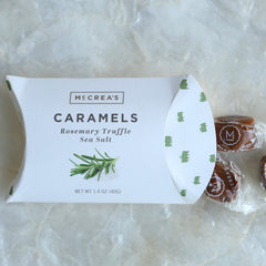 McCrea's Caramels | Best Christmas Candy | Christmas Gift Package for Her | Holiday Gift Baskets