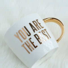 You Are The Best Coffee Mug | Slant Collections | Pretty Mug for Her