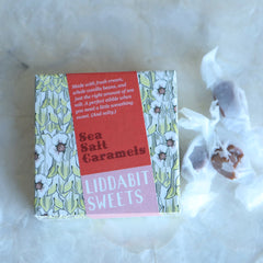 Liddabit Sweets | Sea Salt Candy | Christmas Candy gift | gifts for candy lovers | Brooklyn candy