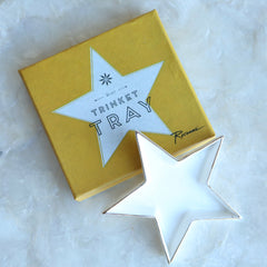 Trinket Tray | Rosanna Star Trinket Tray | Gift ideas under $25 for her | Holiday gift baskets