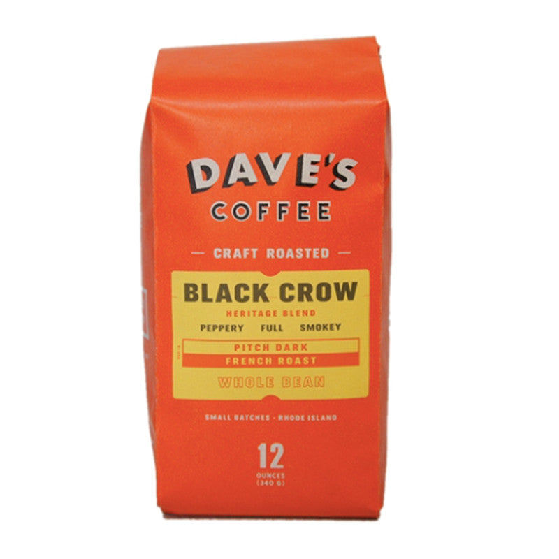 "Dave's Coffee ""Black Crow"" French Roast Coffee - VelvetCrate"