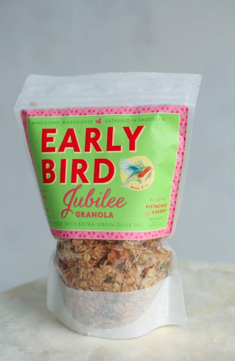 Early Bird Granola | Gift Basket from Brooklyn | Birthday gift idea for her | Celebrate gifts for her