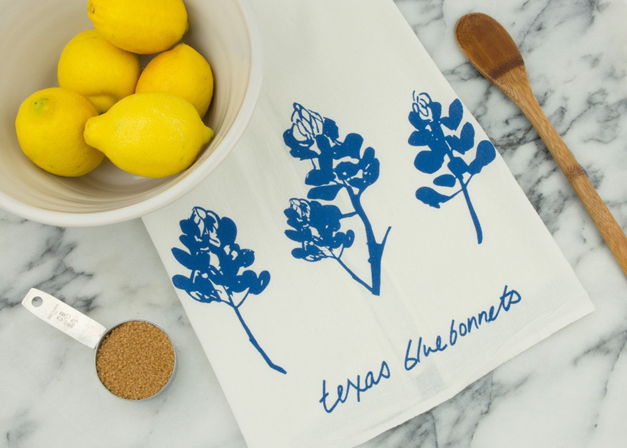 Texas Bluebonnet Tea Towel - VelvetCrate