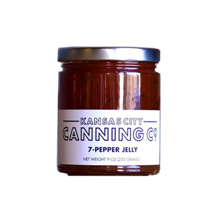 Kansas City Canning Co. 7-Pepper Jelly - VelvetCrate