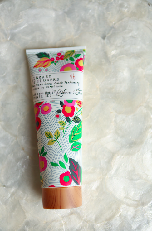 Library of Flowers Wildflower & Fern Shower Gel - VelvetCrate