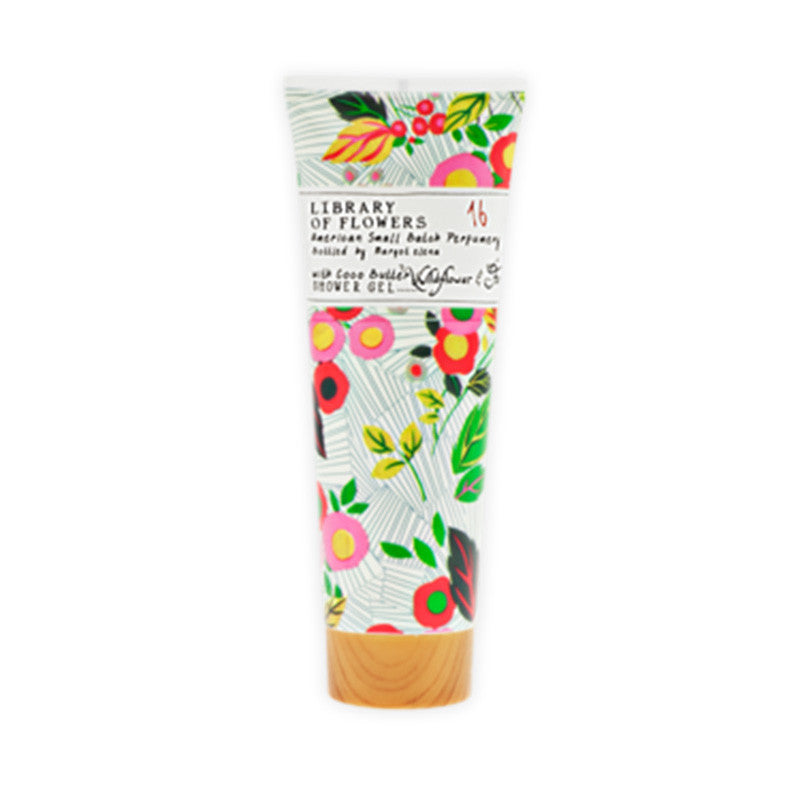 Library of Flowers shower gel | Spa gift package for her | Just Because gift crate