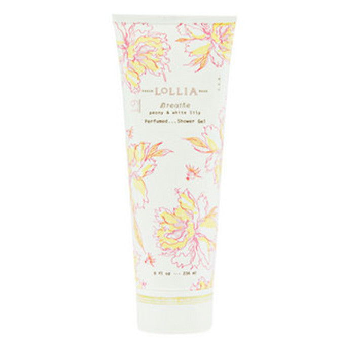 Lollia Shower Gel in Breathe