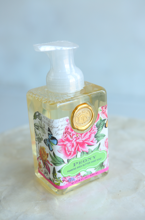 Michel Design Works Peony Foaming Hand Soap - VelvetCrate