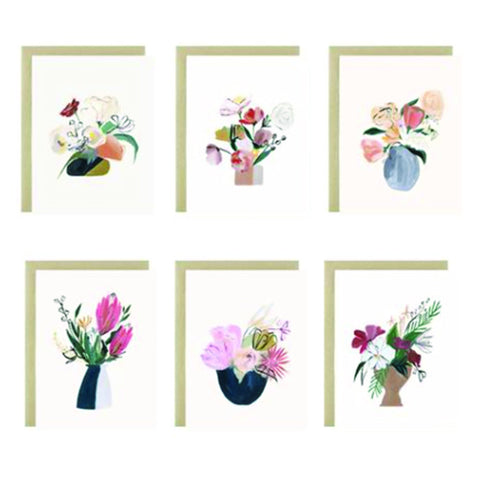 Bouquet Series Assorted Card Set - VelvetCrate