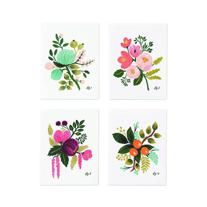 Rifle Paper Co. Botanical Assorted Card Set - VelvetCrate
