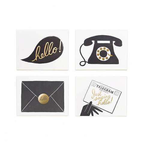 "Rifle Paper Co. ""Hello"" Notecards - VelvetCrate"