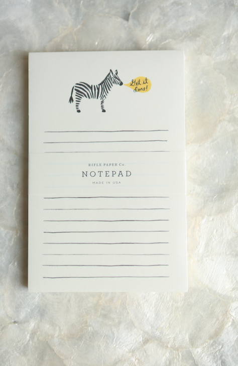 Rifle Paper Co. Get It Done notepad - VelvetCrate