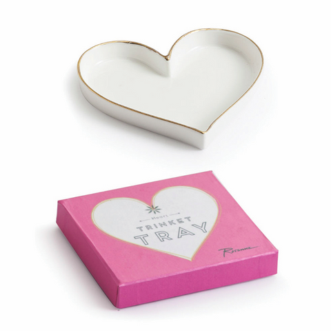 Heart Trinket Tray - VelvetCrate
