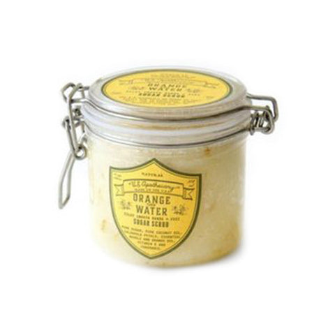 U.S. Apothecary Orange Water Sugar Scrub - VelvetCrate