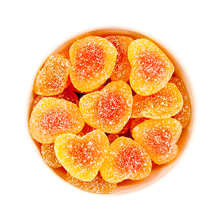 Sugarfina Peach Bellinis Candy - VelvetCrate