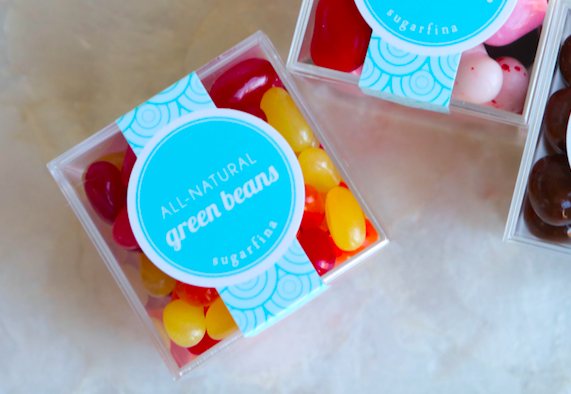 Sugarfina Green Beans All-Natural Jelly Beans - VelvetCrate