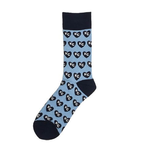 I Heart KC Sock101 socks - VelvetCrate