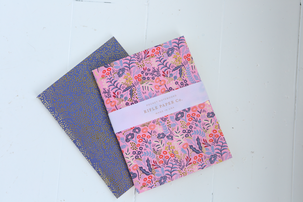 Rifle Paper Co. Jardin de Paris Tapestry Journals - VelvetCrate